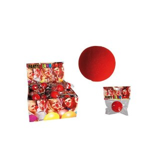Clownsnase Schaumstoff Clown Nase Rot Red Nose Fasching Karneval Party