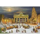 Adventskalender Berlin Brandenburger Tor 38,0 x 26,0 cm...