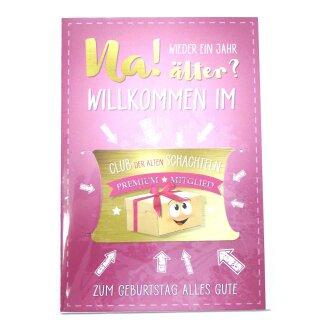 Eulzer Glückwunschkarte Grußkarte Geburtstag Club Der Alten