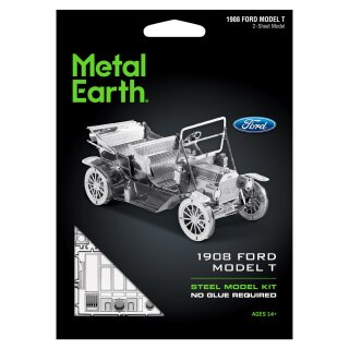 Metal Earth: Ford 1908 Model T Oldtimer Auto Bausatz ab 14 Jahren