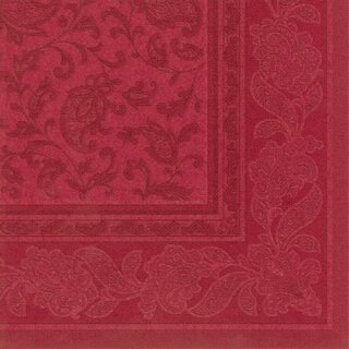 Servietten ROYAL Collection 20 Stück 40x40 cm bordeaux Ornaments